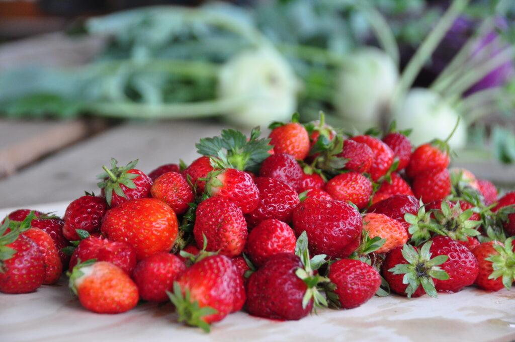 Aardighe aardbeien